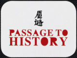Passage to history sticker